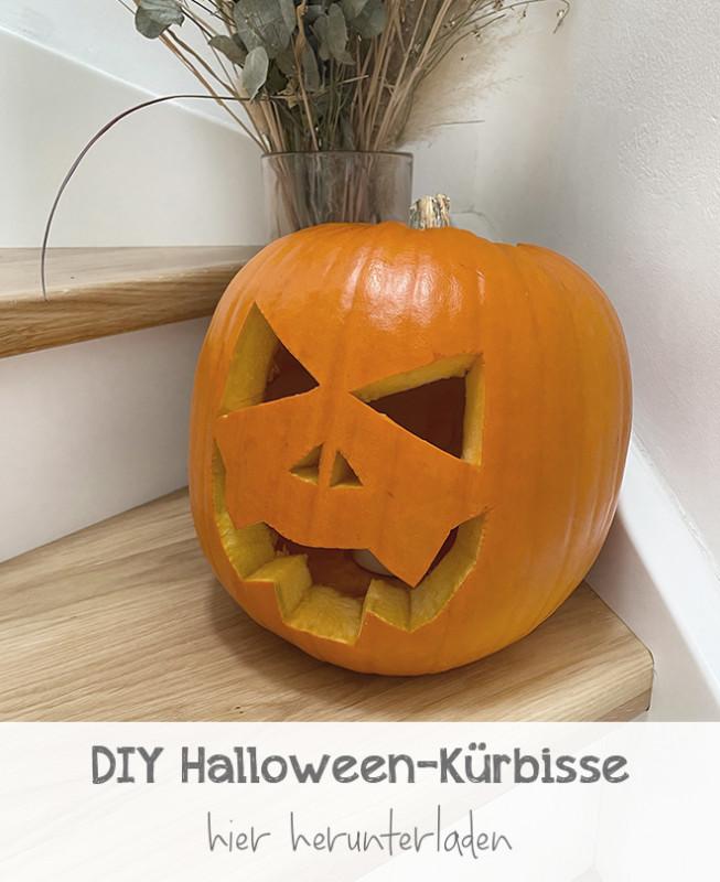 DIY Halloween-Kürbisse