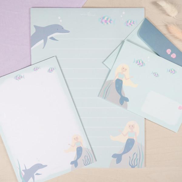 """Briefpapier """"Meerjungfrau"""""""