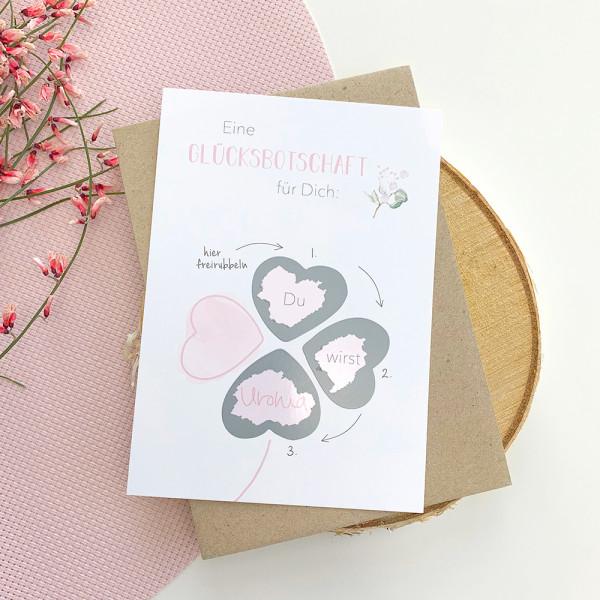 "Rubbelkarte ""Du wirst Uroma"" zum Schwangerschaft verkünden"