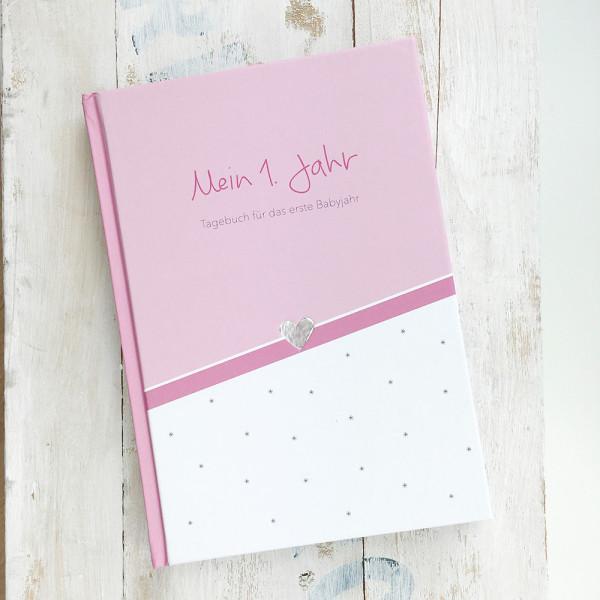 Baby Tagebuch - rosa