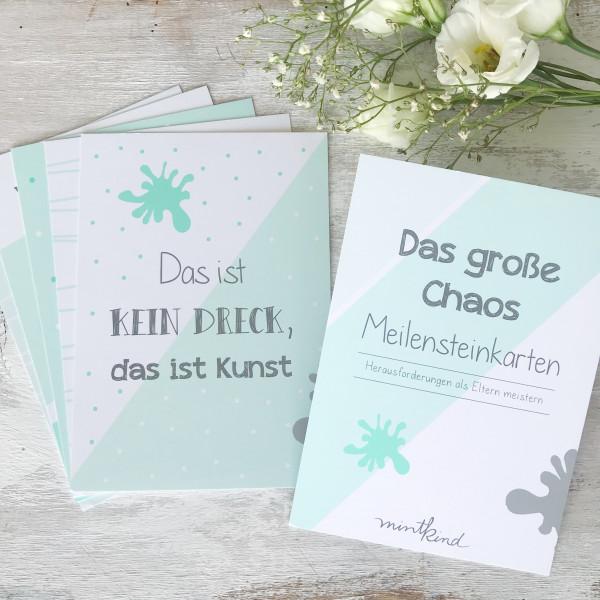 "Meilensteinkarten ""Mini-Set"" - das große Chaos"