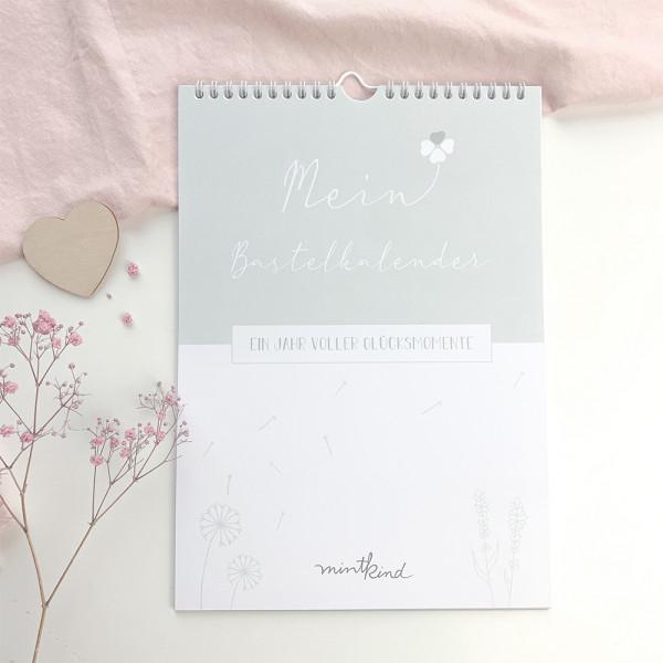 Bastelkalender 12 Monate