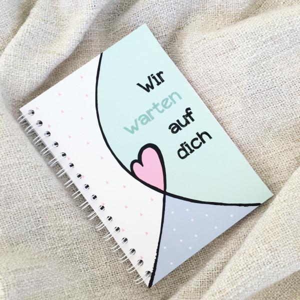 """Erinnerungsbuch """"Wir warten auf dich"""""""