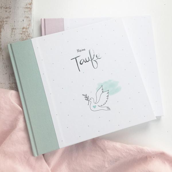 """Gästebuch """"Meine Taufe"""" mint"""