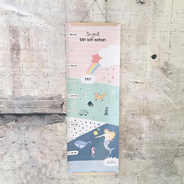 Messlatte Poster - rosa