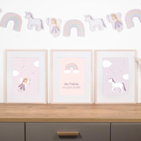 "Kinderzimmer Poster Set ""Feen"""