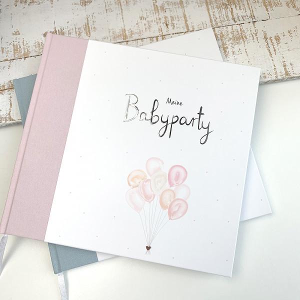 """Gästebuch """"Meine Babyparty"""" rosa"""