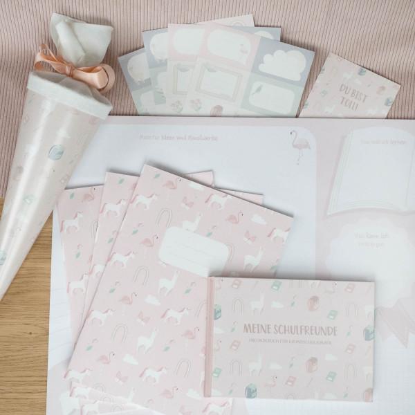 Geschenke Set Einschulung - Rosa