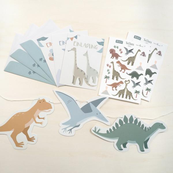 Kinder Party Set - Dinosaurier