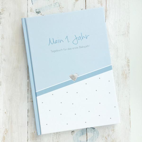 Baby Tagebuch - blau