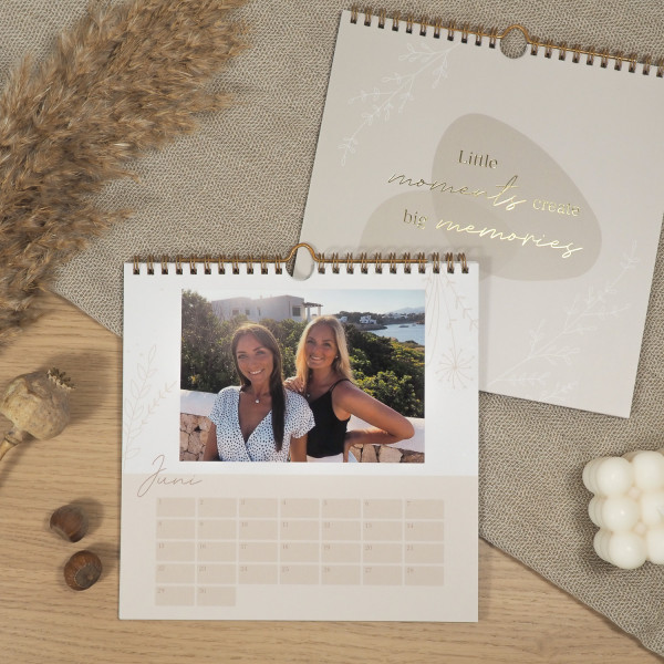 Fotokalender zum Selbstgestalten Cover