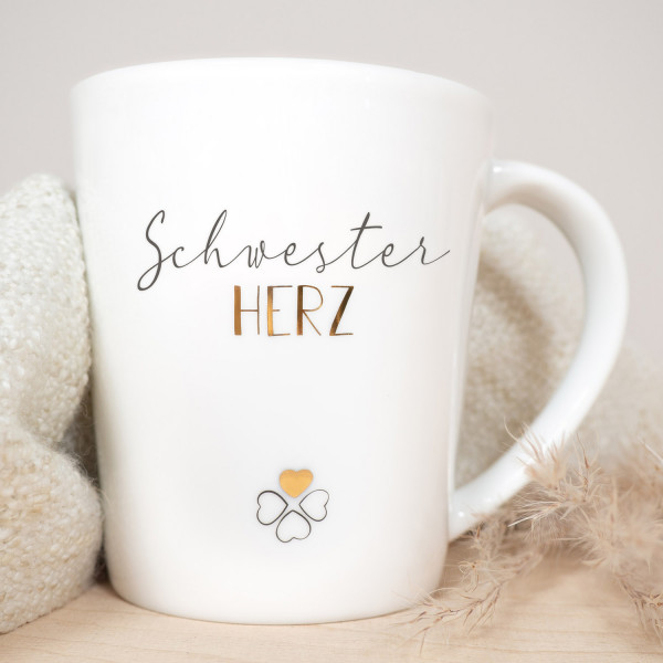 Kaffeebecher Schwester