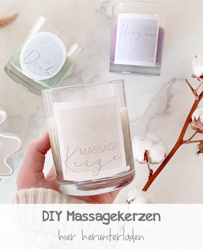 DIY Massagekerzen