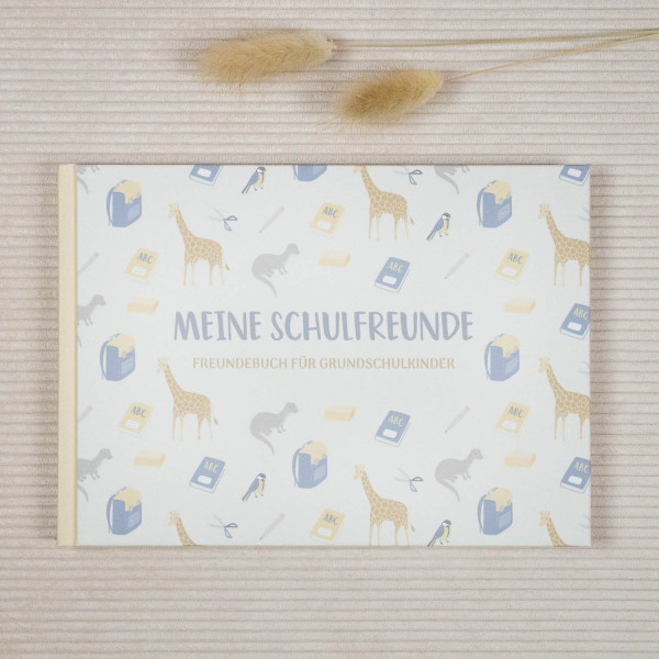 Freundebuch Schule Cover