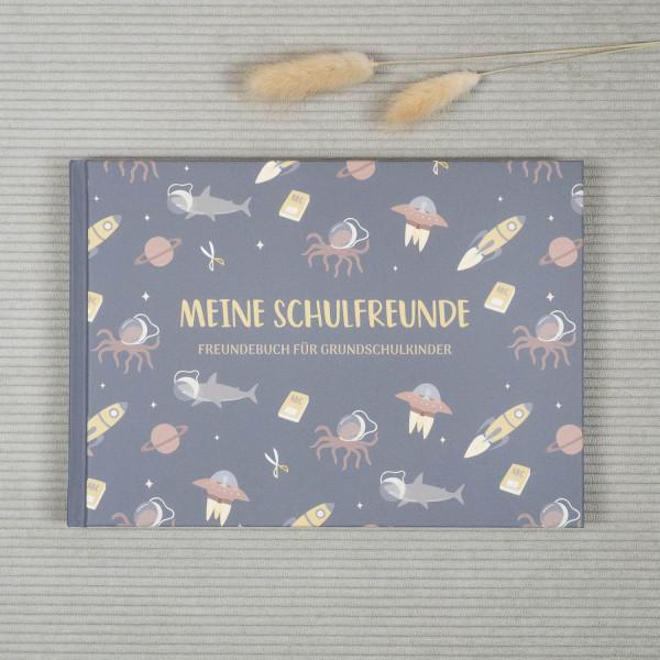 Freundebuch Schule Jungen Cover