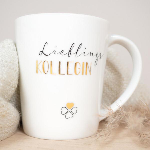 Kaffeebecher Kollegin
