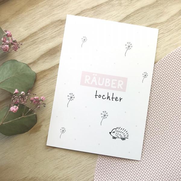 """Postkarte """"Räubertochter"""""""