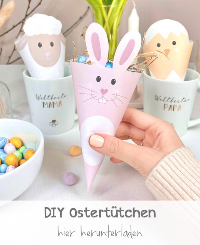 DIY Oster Geschenktüten