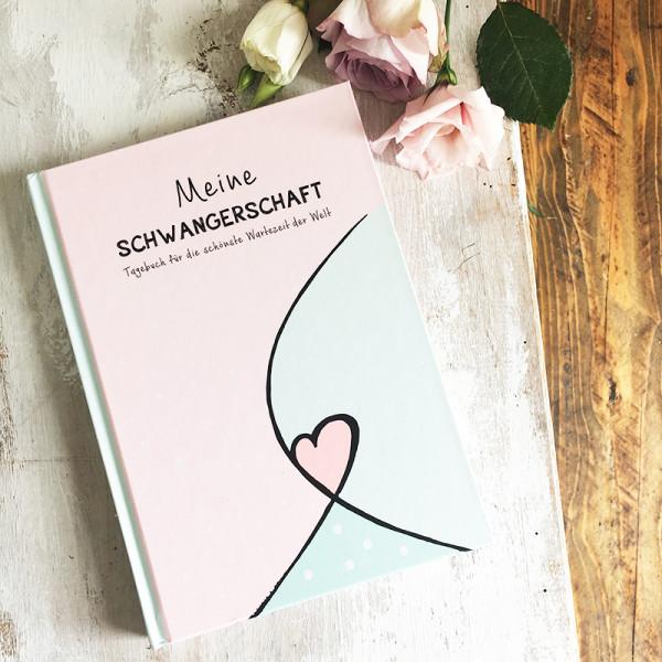 Schwangerschaftstagebuch zum Eintragen, Cover