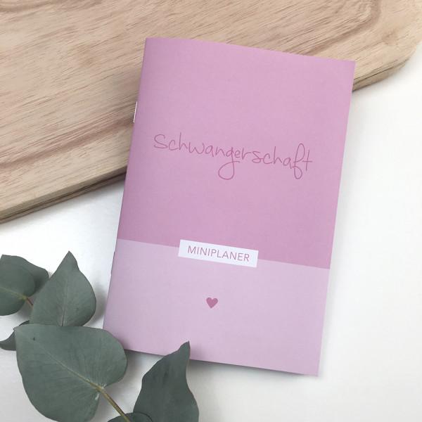 """Mini Planer """"Schwangerschaft"""""""