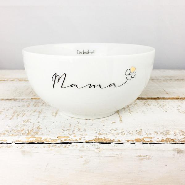 Porzellan Schüssel Mama