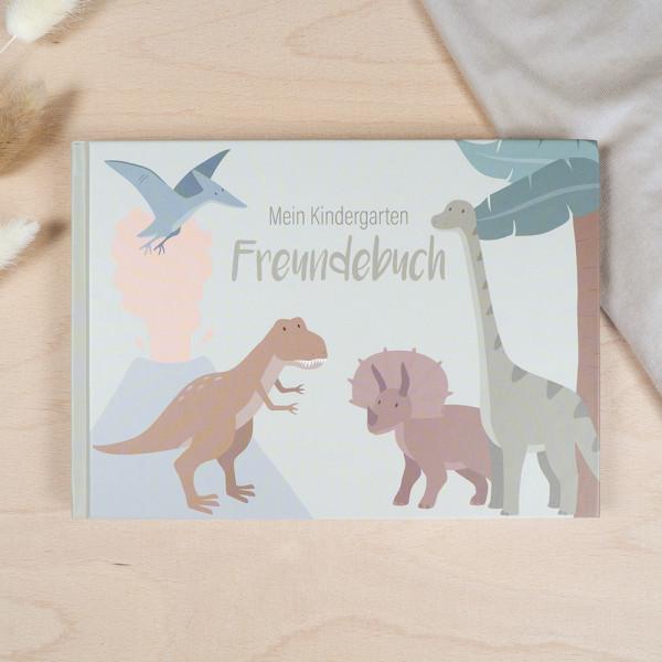 Kindergarten Freundebuch – Dinosaurier
