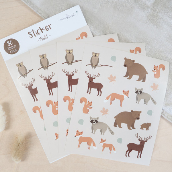 "Sticker Set ""Wald"""